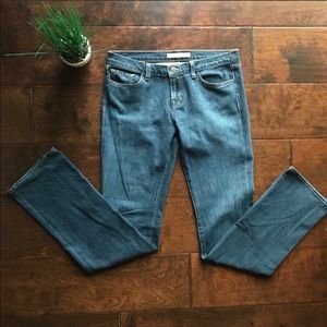J BRAND Jeans Size 30 Low rise straight jeans